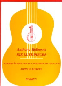 Six Lute Pieces(Duarte) available at Guitar Notes.