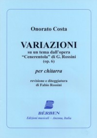 Variazioni, op.6(Rossini) available at Guitar Notes.