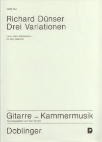 Drei Variationen available at Guitar Notes.