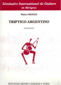 Triptico Argentino available at Guitar Notes.