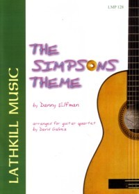The Simpsons Theme available at Guitar Notes.