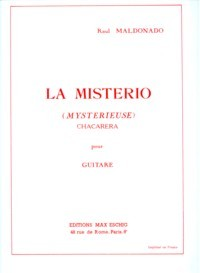 La Misterio, chacarera available at Guitar Notes.