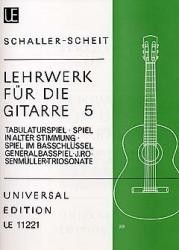 Lehrwerk fur die Gitarre, Vol.5 [2Vn/Gtr] available at Guitar Notes.