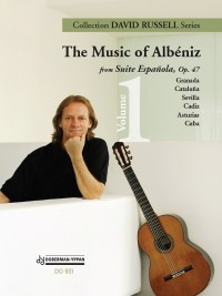 The Music of Albeniz Vol.1 (Russell) available at Guitar Notes.