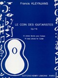 Le Coin des guitaristes, op.119 available at Guitar Notes.