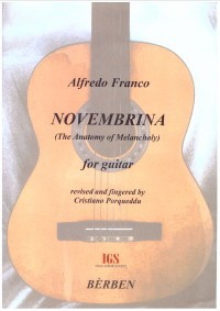 Novembrina available at Guitar Notes.