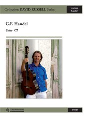 Suite no.7 (Russell) available at Guitar Notes.