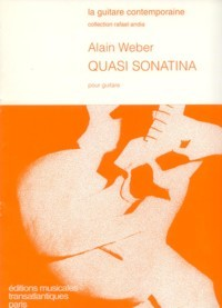 Quasi Sonatina(Chanut) available at Guitar Notes.