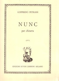 Nunc (Gangi) available at Guitar Notes.