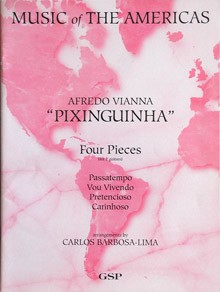 Four Pieces(Barbosa-Lima) available at Guitar Notes.