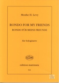 Rondo for my Friends available at Guitar Notes.