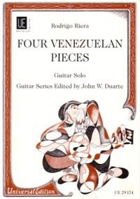 Four Venezuelan Pieces available at Guitar Notes.