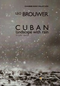 Cuban Landscape with rain [1984] available at Guitar Notes.