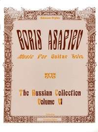 The Russian Collection, Vol.6: Asafiev available at Guitar Notes.