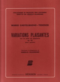 Variations Plaisantes, op.95(Gilardino) available at Guitar Notes.