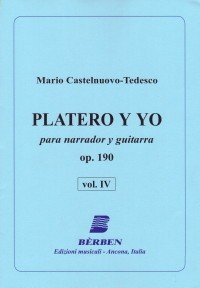 Platero y Yo, Vol.4 available at Guitar Notes.