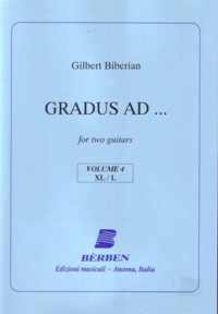 Gradus Ad: Vol.4 available at Guitar Notes.