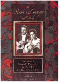 Presti-Lagoya Collection: Vol.7 Paganini available at Guitar Notes.