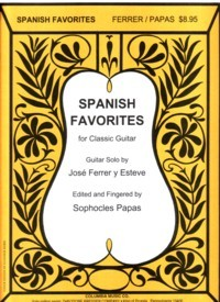 Spanish Favorites(Papas) available at Guitar Notes.