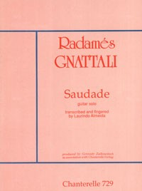 Saudade(Almeida) available at Guitar Notes.