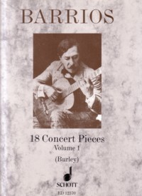 18 Concert Pieces, Vol.1(Burley) available at Guitar Notes.