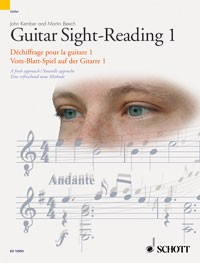 Guitar Sight Reading 1 available at Guitar Notes.