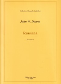 Russiana, op.119 available at Guitar Notes.