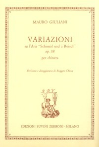 Variazioni, op.38(Chiesa) available at Guitar Notes.