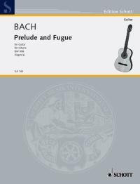 Prelude & Fugue, BWV998(Segovia) available at Guitar Notes.