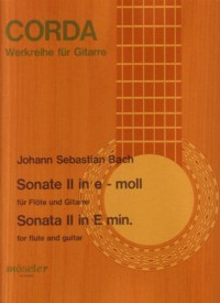 Sonata no.2, BWV1034(Buttmann) available at Guitar Notes.