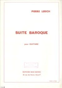 Suite baroque available at Guitar Notes.