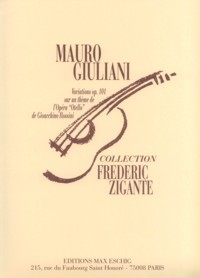 Variations, op.101(Zigante) available at Guitar Notes.
