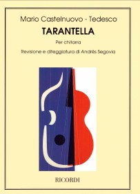 Tarantella, op.87a(Segovia) available at Guitar Notes.