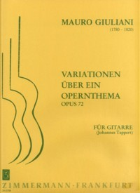 Variations, op.72(Tappert) available at Guitar Notes.