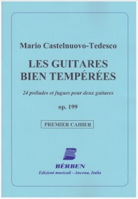Les Guitares Bien Temperees, op.199: Vol.1 available at Guitar Notes.
