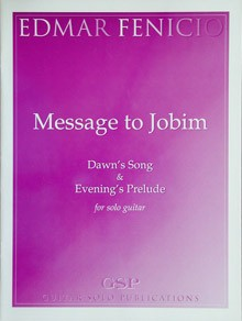 Message to Jobim available at Guitar Notes.