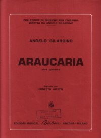 Araucaria available at Guitar Notes.