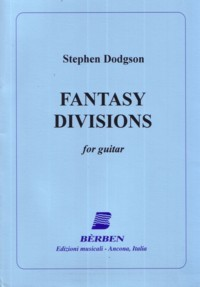 Fantasy Divisions (Williams) available at Guitar Notes.