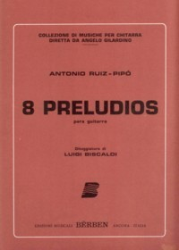 8 Preludios available at Guitar Notes.