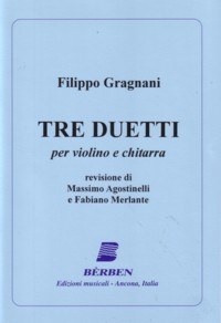 Tre Duetti (Agostinelli/Merlante) available at Guitar Notes.