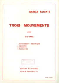 Trois Mouvements available at Guitar Notes.