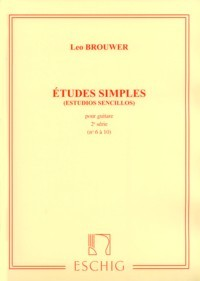 Etudes Simples, Vol.2 [1972] available at Guitar Notes.