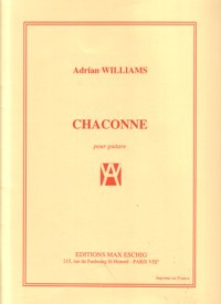 Chaconne available at Guitar Notes.