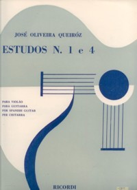 Estudos no.1 & 4 available at Guitar Notes.