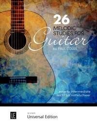 26 Melodic Studies available at Guitar Notes.