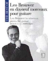 The Best of Leo Brouwer (Zigante) available at Guitar Notes.