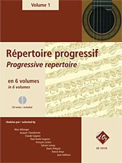 Repertoire Progressif Vol.1 available at Guitar Notes.