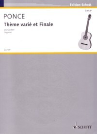 Theme varie et Finale available at Guitar Notes.