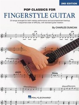 Pop Classics for Fingerstyle Guitar available at Guitar Notes.