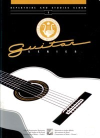 Repertoire and Studies Album Level 1 (1st Series) available at Guitar Notes.